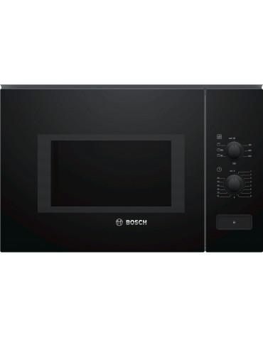 Micro-ondes gril encastrable 25l 900w noir