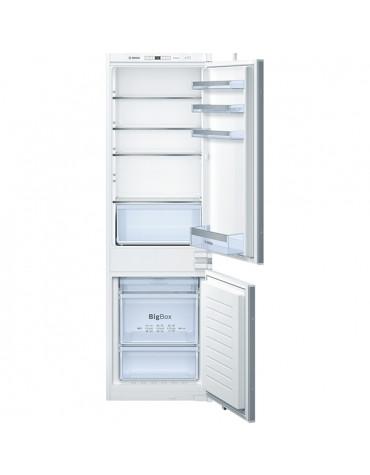 bosch Réfrigérateur combiné intégrable à glissière 255l a++ nofrost bosch