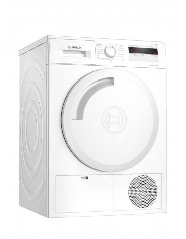 Sèche-linge pompe à chaleur avec condenseur 60cm 7kg a+ blanc