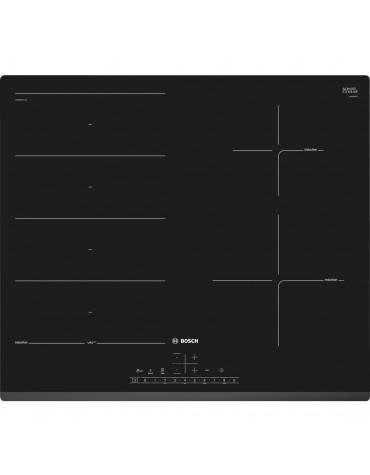 bosch Table à induction 60cm 4 feux 7400w noir bosch