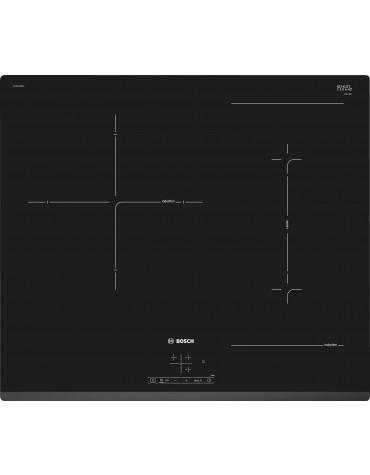 bosch Table de cuisson induction 59cm 3 feux 7400w noir bosch
