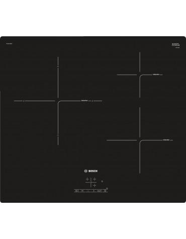 bosch Table de cuisson induction 60cm 3 feux 4600w noir bosch