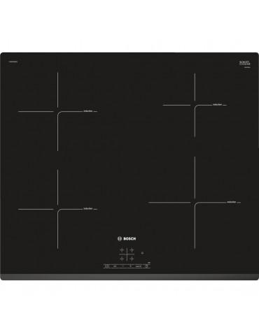 bosch Table de cuisson induction 60cm 4 feux 4600w noir bosch