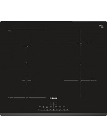 bosch Table de cuisson induction 60cm 4 feux 6900w noir bosch