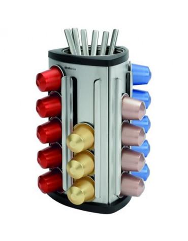 brabantia Distributeur pour 30 capsules nespresso brabantia