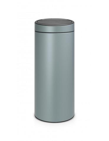 Poubelle 30l metallic mint