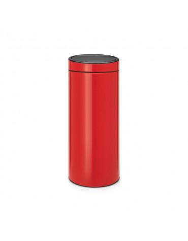 brabantia Poubelle 30l rouge brabantia