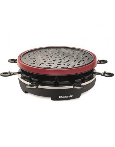 Appareil à raclette 8 personnes 900w + grill