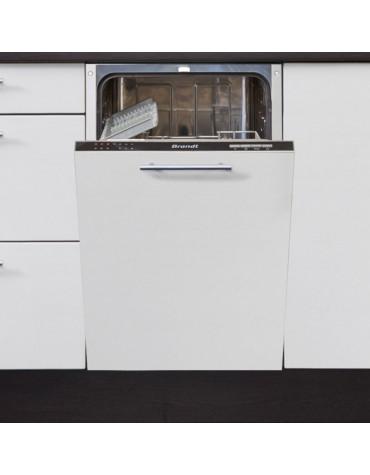 Lave vaisselle 45cm 10c 47db a++ tout intégrable