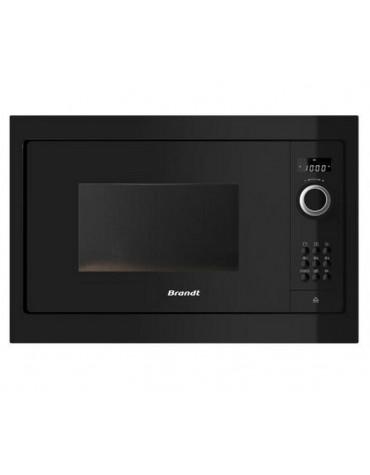 brandt Micro-ondes encastrable 900w 26l noire brandt