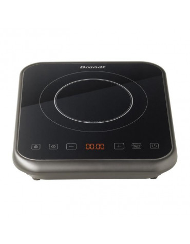 brandt Table de cuisson à induction posable 2000w noir brandt