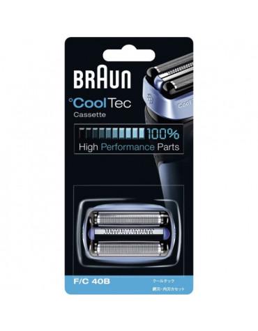 braun Cassette de rasoir série cooltec braun
