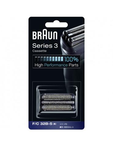 braun Cassette pour rasoir série 3 bleu braun
