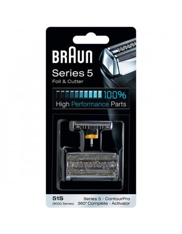 braun Couteau + grille de rasoir pour série 5 braun