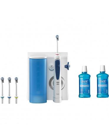braun Pack hydropulseur mono-jet + 2 bains de bouche braun