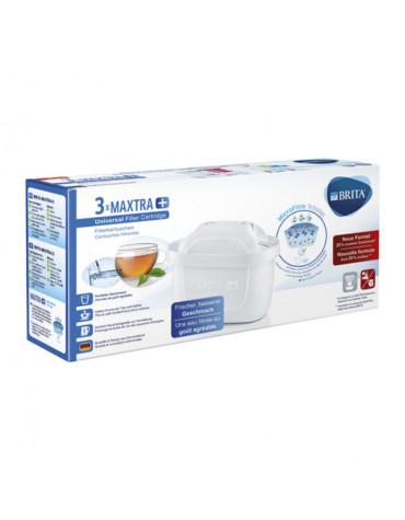 brita Pack de 3 cartouches maxtra+ pour carafe filtrante brita