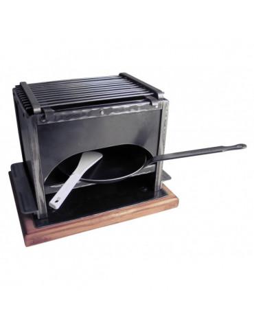 bron coucke Brasero + reblochade à charbon bron coucke