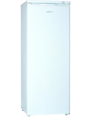 california Congélateur armoire 55cm 163l a+ blanc california