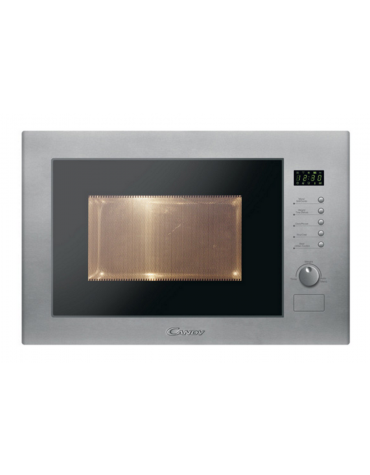 candy Micro-ondes gril encastrable 25l 900w inox candy