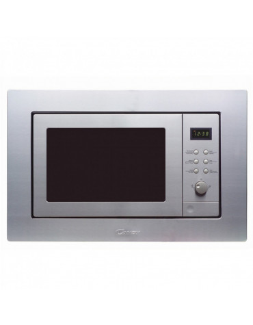 candy Micro-ondes grill encastrable 20l 800w inox candy