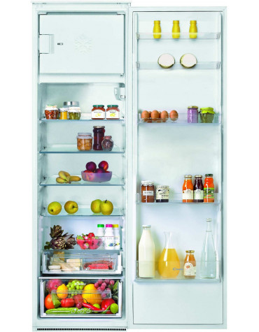 Réfrigérateur 1 porte intégrable à glissière 286l a+