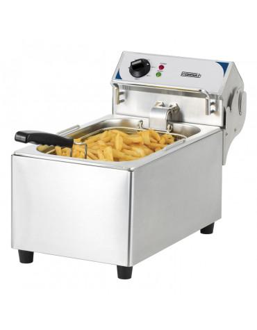 Friteuse électrique 10l 2800w inox
