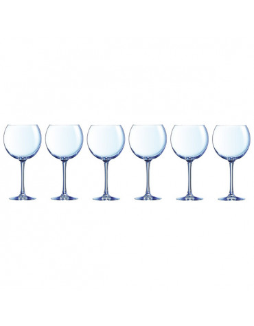 chef and sommelier Lot de 6 verres ballon 70cl chef and sommelier