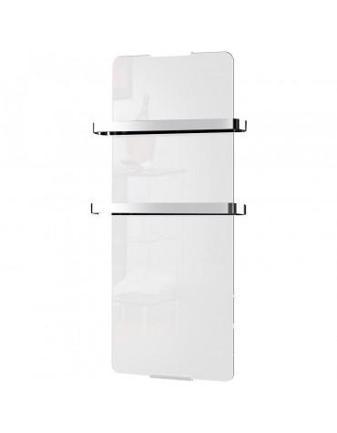 chemin'arte Radiateur sèche serviette électrique 1200w blanc chemin'arte