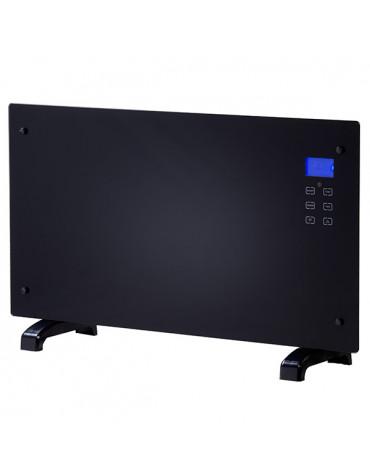cheminarte Radiateur décoratif 2000w noir avec télécommande cheminarte