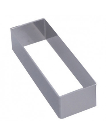 de buyer Cadre rectangle inox 16.4x3.2cm de buyer