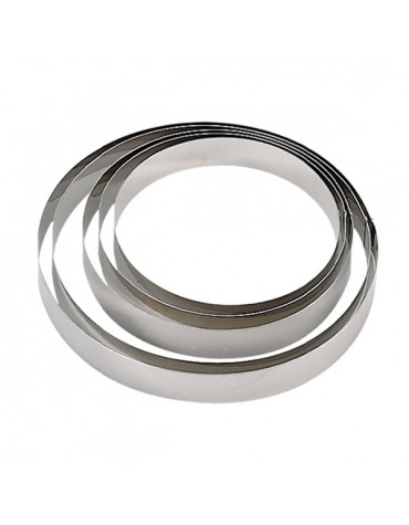 de buyer Cercle à pâtisserie inox 6cm de buyer