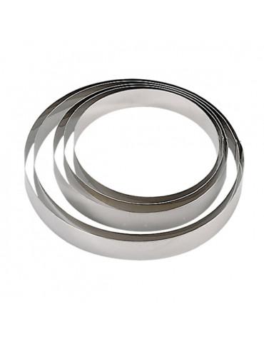 Cercle à pâtisserie inox 6cm