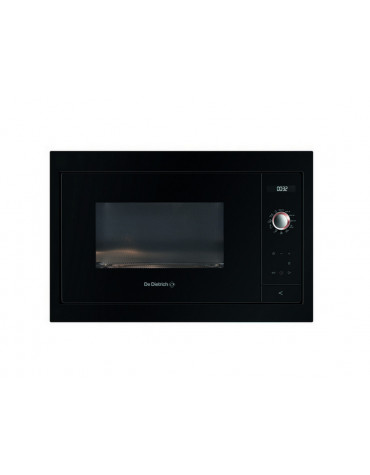 Micro-ondes solo 26l 900w encastrable noir/inox
