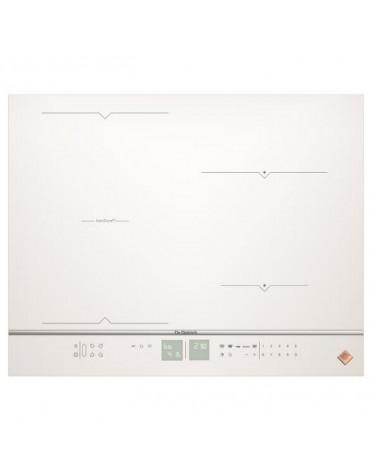 Table de cuisson à induction 65cm 4 feux 7400w blanc