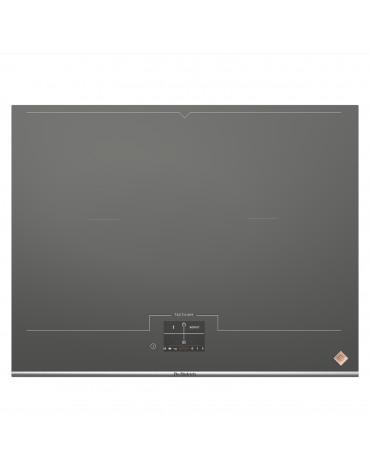 Table de cuisson à induction 65cm 4 feux 7400w gris