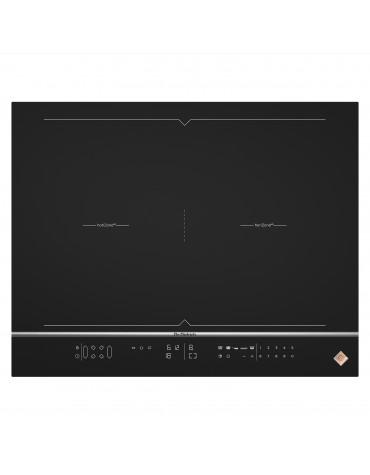 Table de cuisson à induction 65cm 4 feux 7400w noir