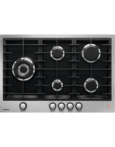Table de cuisson gaz 72cm 5 feux inox