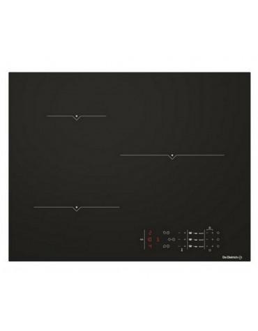 Table de cuisson induction 65cm 3 feux 7400w noir