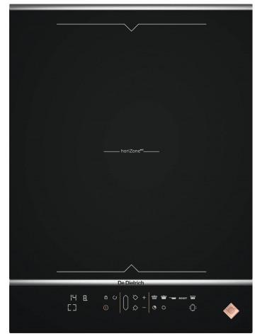de dietrich Table domino induction 38cm 2 feux 4600w noir de dietrich