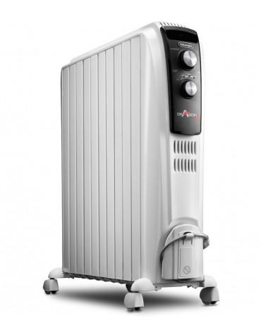 Radiateur à bain d'huile 2500w blanc
