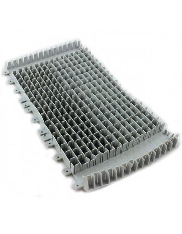 dolphin Brosse pvc pour brosse combiné grise pour robot suprême m3,m4, swash et master m3,m4 dolphin