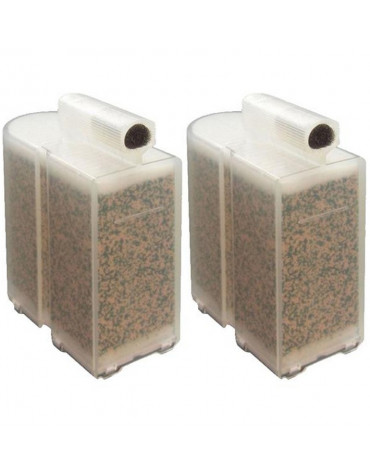 domena Pack de 2 cassettes anticalcaire pour centrale vapeur domena