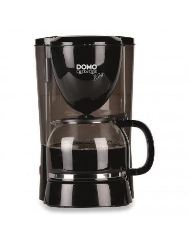 domo Cafetière filtre 12 tasses 800w noir domo