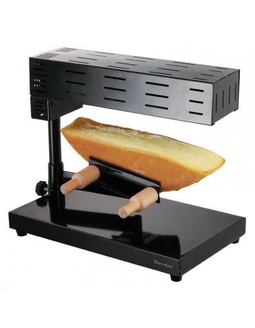 domoclip Appareil à raclette traditionnel 1/2 meule domoclip