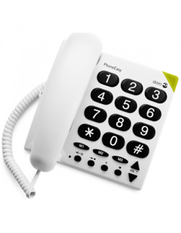 Téléphone filaire grosses touches
