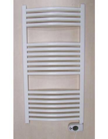 ducasa Sèche-serviettes à inertie fluide 450w blanc ducasa