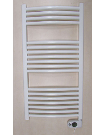 ducasa Sèche-serviettes à inertie fluide 750w blanc ducasa