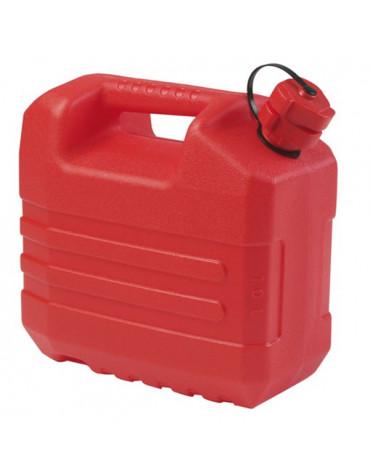 eda Jerrican hydrocarbure 10l avec bouchon verseur rouge eda
