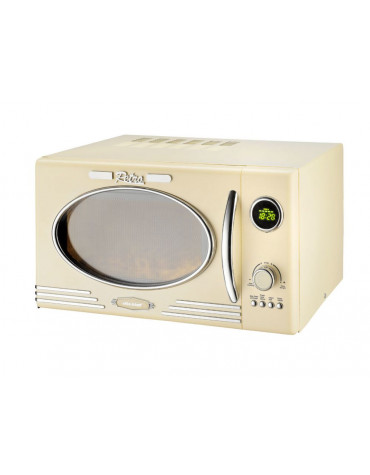 Micro-ondes + grill 25l 1000w crème