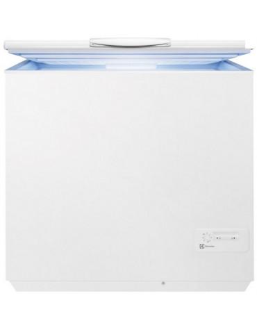 electrolux Congelateur coffre 95cm 260l a+ blanc electrolux